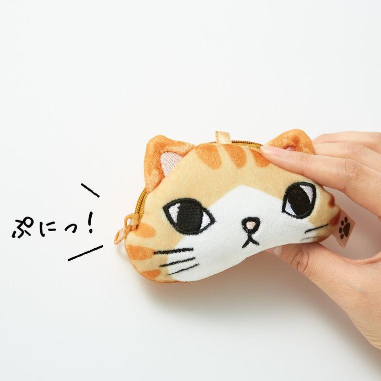 ぷにぷに感がクセになる! フェリシモ猫部から「にゃんポーチ」が発売
