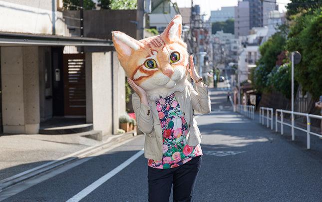あの「リアル猫ヘッド」(60万円)がリアルにかぶれる!! 先着順の超レアな撮影会開催