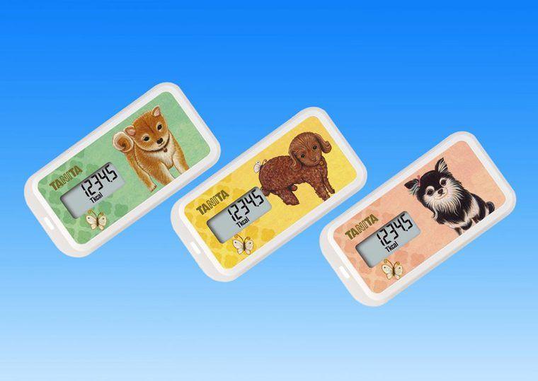 タニタがワンコとお散歩活動量計を発売 散歩で滝川クリステルさんと犬猫助け