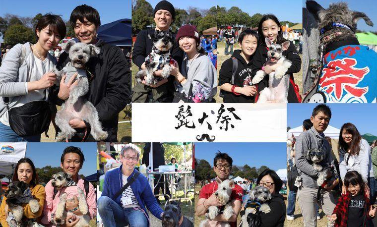 【イベントレポート】髭犬祭2018|国内最大級のシュナウザーイベント開催