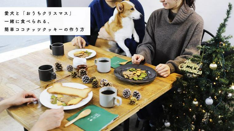 【愛犬とおうちクリスマス】簡単ココナッツクッキーの作り方