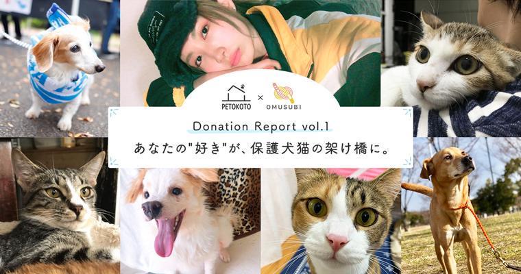 あなたの「好き」が保護犬猫の架け橋に。OMUSUBI登録団体への寄付支援を実施!