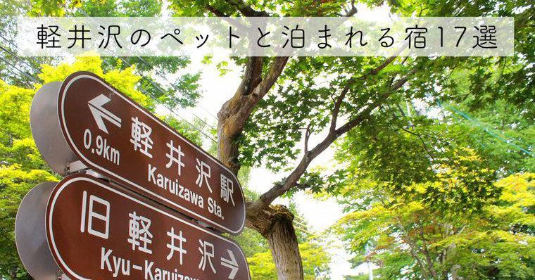 軽井沢のペットと泊まれる宿おすすめ17選 高級宿や大型犬可など特徴別に紹介