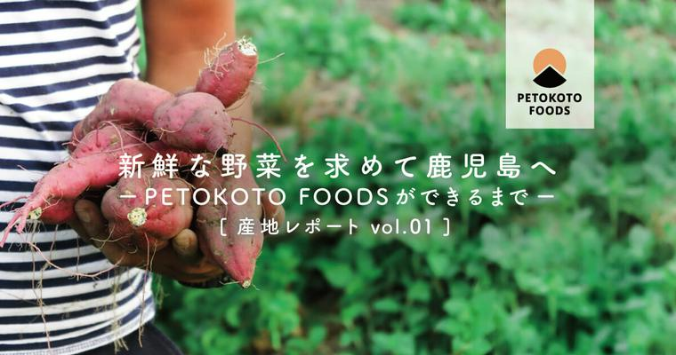 【PETOKOTO FOODSができるまで】野菜を作る農家の菱田さんのお話