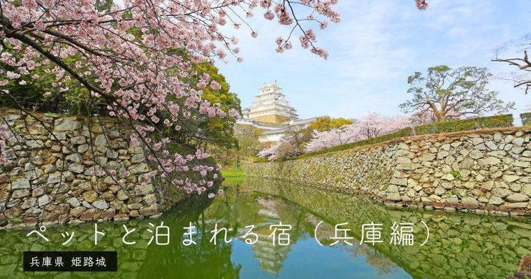 兵庫県のペットと泊まれる宿 コテージや有馬温泉など特徴別に紹介