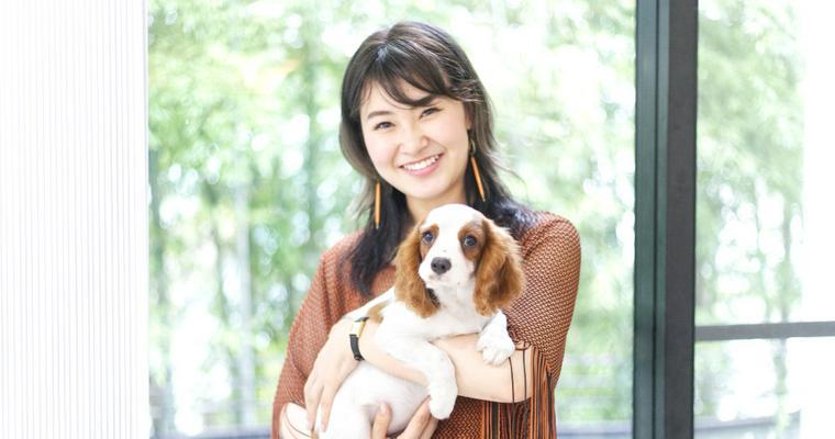 村上佳菜子さんが「OMUSUBI」を通じて保護犬「ViVi」ちゃんを迎えました。