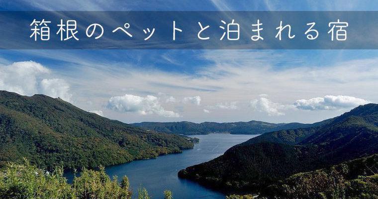 箱根のペットと泊まれる宿・コテージ15選 人気ランキングや温泉など特徴別に紹介