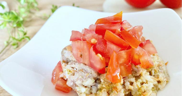 【PETOKOTO FOODS】愛犬のごはんに「トマト」を添えるアレンジレシピ