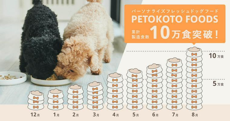 人も食べられるドッグフード「PETOKOTO FOODS」10万食突破! 50%OFFキャンペーン開催中